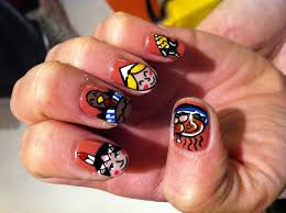 picture 3 of 10 cute thanksgiving nail designs photo gallery