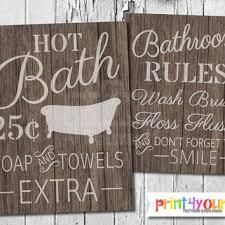 inspiration 40 bathroom rules sign printable design decoration of