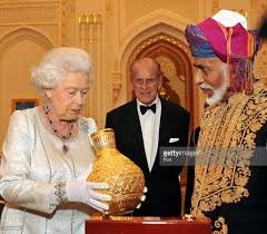 queen elizabeth ii and prince philip visit oman day 1 photos and