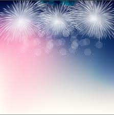 light colored fireworks background art vector 05 vector