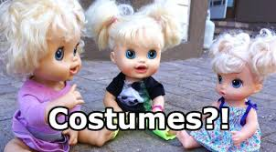 baby alive halloween costumes white fence apparel
