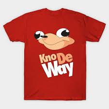 Memes Shirt - kno de way ugandan knuckles meme shirt ugandan knuckles t