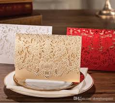 make your own wedding invitations online 2017 wishmade customizable laser cut wedding invitations cards