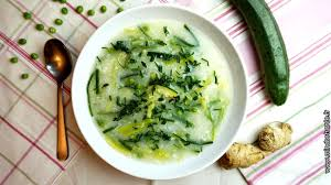 blogs cuisine facile soupe de riz aux légumes verts mindset santé