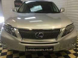 lexus suv for sale uk used lexus rx 450h 3 5 se l premier 5dr cvt auto for sale in