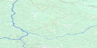 Yukon River Map Stewart River Topo Map Free Online Nts 115o Yk