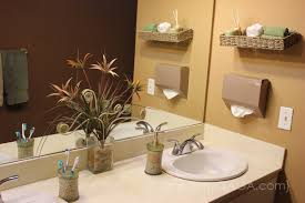 diy bathroom decor ideas with home design ideas easy bathroom