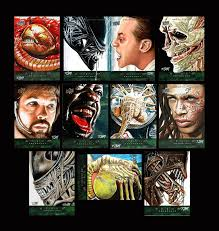 alien anthology sketch cards by dr horrible on deviantart