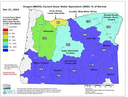 Eastern Oregon Map by Cliff Mass Weather And Climate Blog The Wettest December In