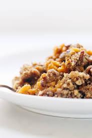 sweet potato casserole with brown sugar topping recipe pinch of yum