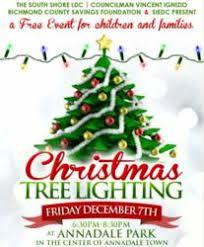 annadale tree lighting ceremony free event on december