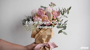 cookie bouquet how to make an edible sugar cookie bouquet