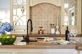 moroccan tile kitchen backsplash accessories for kitchen decorating design using light brown