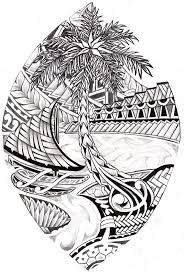 guam tribal seal coloring page island chamorro pinterest