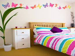 Girls Room Paint Ideas by 15 Cheap And Easy Diy Wall Beautification With Butterflies Home