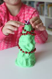 decorate a play dough christmas tree play kit mama papa bubba