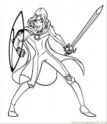 coloring pages sky ready fight cartoons u003e winx club free