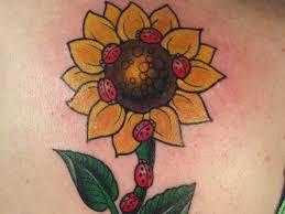 stunning sunflower tattoos symbolize happiness articles