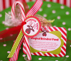 free printable reindeer food tags for classroom favors crafts
