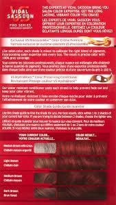 Color Shade by Amazon Com Vidal Sassoon Pro Series Hair Color 5rr Medium
