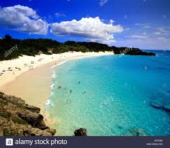 horseshoe bay in bermuda offers pristine pink sand beaches and