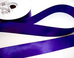 purple satin ribbon purple satin ribbon etsy