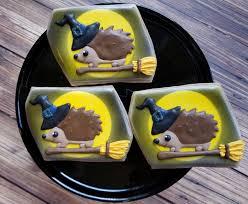 cute halloween critters u2013hedgehogs u2013 the dancing cookie