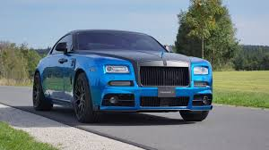 rolls royce ghost mansory dub magazine black and blue rolls royce wraith by mansory