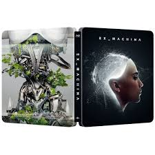 Ex Machina Turing Test Ex Machina Zavvi Exclusive Limited Edition Steelbook Blu Ray