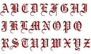 imagenes goticas letras buscar fotos letra gótica