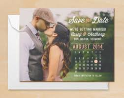 save the date announcements photo calendar save the date printable pdf or printed cards