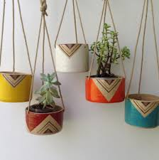 decoration wall hanging plant pots indoor living wall hanging