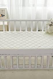 Crib Mattress Protector Pad Ultra Soft Waterproof Crib Mattress Protector Pad From Bamboo