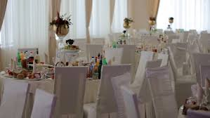 table setting at a luxury wedding reception wedding reception