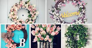 wreath ideas 15 creative diy wreath ideas to brighten your door homelovr