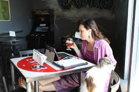 Dogs At Dinner Table Drinking Your Dinner With Dog Ok At Many Colorado Springs Area