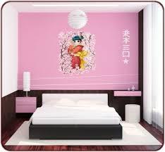 deco chambre japonais impressionnant creer deco chambre bebe 11 stickers mangas
