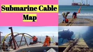Undersea Cable Map Ccna World Submarine Cable Map Internet Connectivity