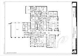 Municipal Hall Floor Plan by City Center Construction Olivette Mo