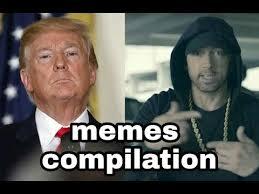 Bet Meme - eminem bet hip hop awards donald trump rap cypher memes youtube