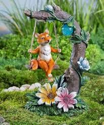 Solar Garden Ornaments Outdoor Decor Rabbit With Solar Lantern Garden Sculpture Http Www