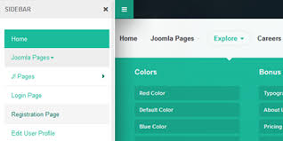 menu templates for bootstrap ja biz responsive joomla template for business joomla templates