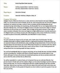 resume template for retail sales associate retail sales job description performance scoring system page 03