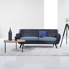 Mid Century Modern Tufted Sofa by Amazon Com Mid Century Modern Tufted Bonded Leather Sofa In Color