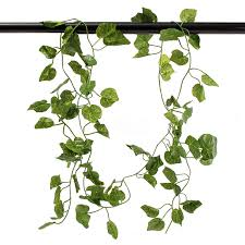 83inch artificial vines silk ivy leaf plant hanging home café