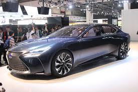 lexus lf lc blue photos gallery tokyo 2015 lexus lf fc is a break with convention car design news
