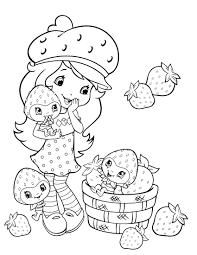 straberry shortcake 2 coloringcolor com