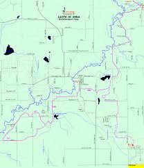 Printable Map Of Michigan by Michigan Snowmobiling Leota Snowmobile Trail Map Michigan Sledhead