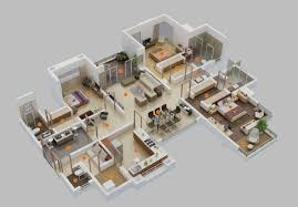 large apartment floor plans 5 bedroom apartment floor plans ideas large and awesome one