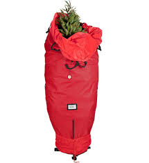 upright tree storage bag in tree storage